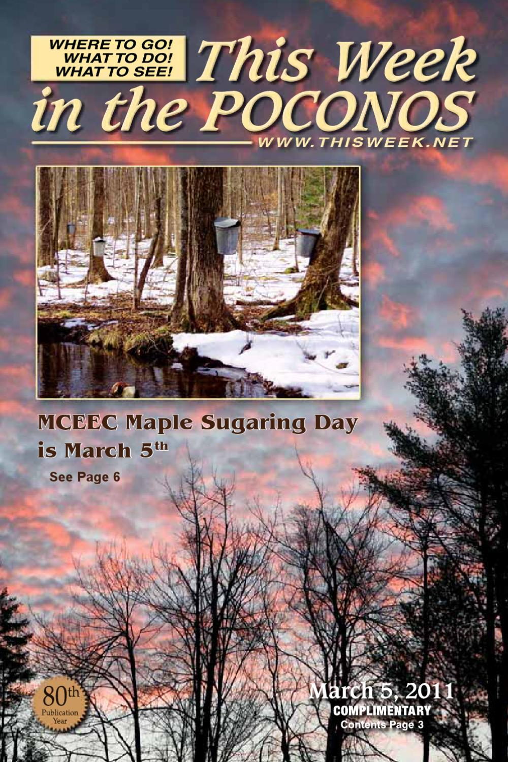 This Week In The Poconos Magazine By This Week In The