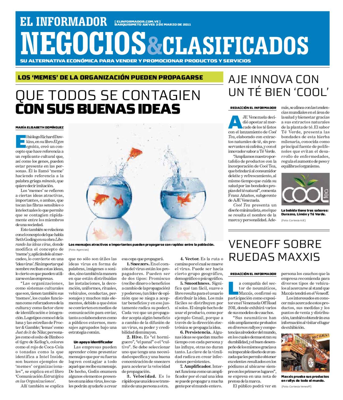 negocios y clasificados 2011 03 03 by El Informador Diario online