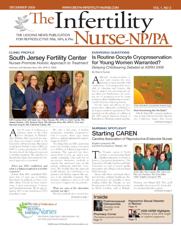 December 2009, Vol 1, No 2 by Novellus Healthcare
