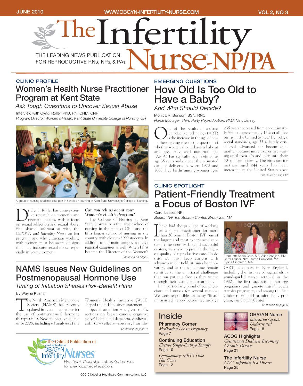 June 2010, Vol 2, No 3 by Novellus Healthcare Communications