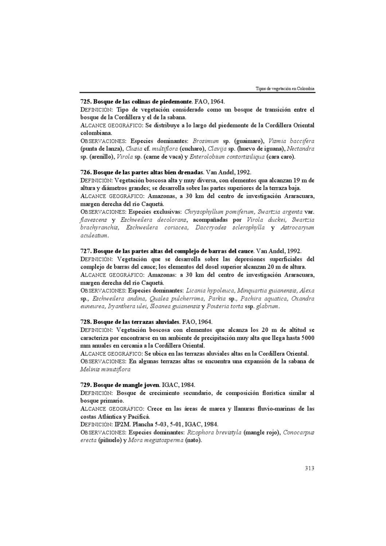 Dbiicap3d Tipos De Vegetacion En Colombia By Henry Arellano