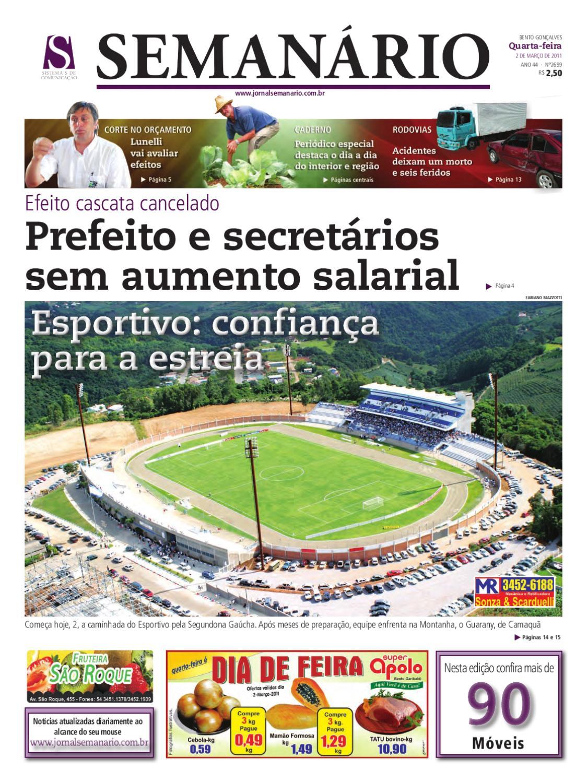 9612bbd6d3 02 03 2011 - JORNAL SEMANÁRIO by jornal semanario - issuu
