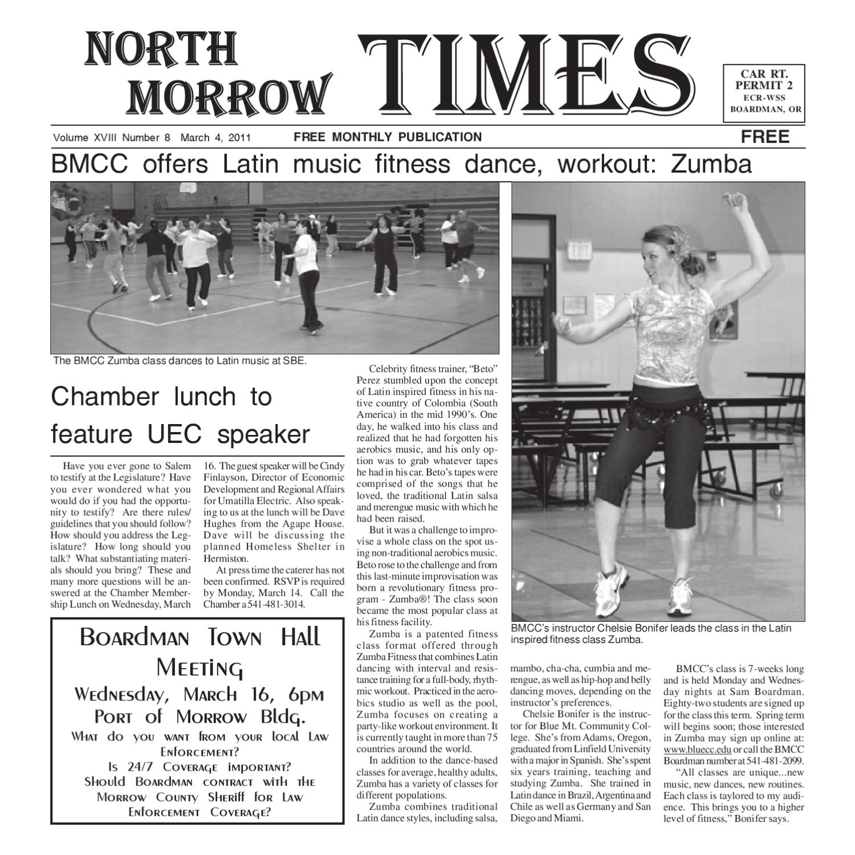 Northmorrowtimesmarch2011 By North Morrow Times Issuu