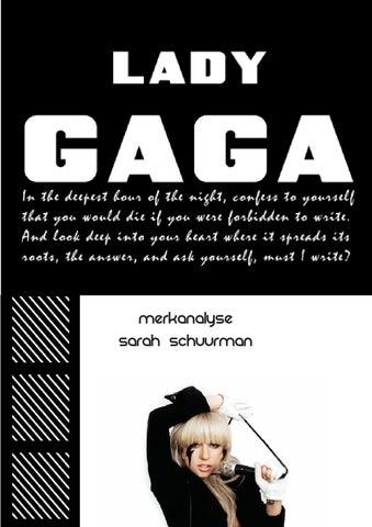 Lady Gaga Born This Way Digital Booklet Pdf