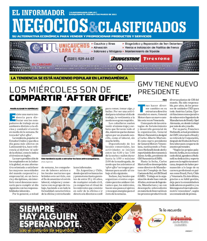 negocios y clasificados 2011 03 04 by El Informador Diario online
