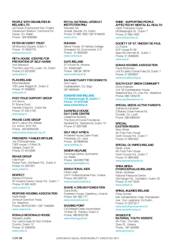 CSR Directory 2011 by greg o sullivan - issuu