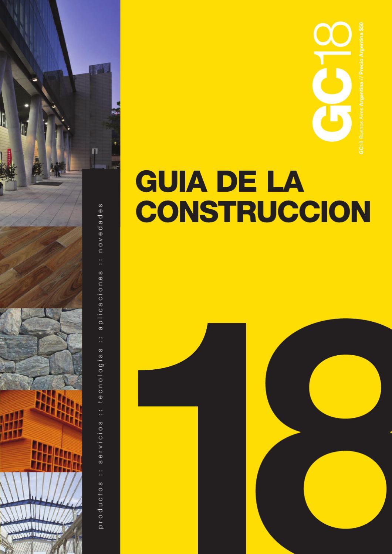 Guía de la Construccion 18 by Patricia Perez - issuu