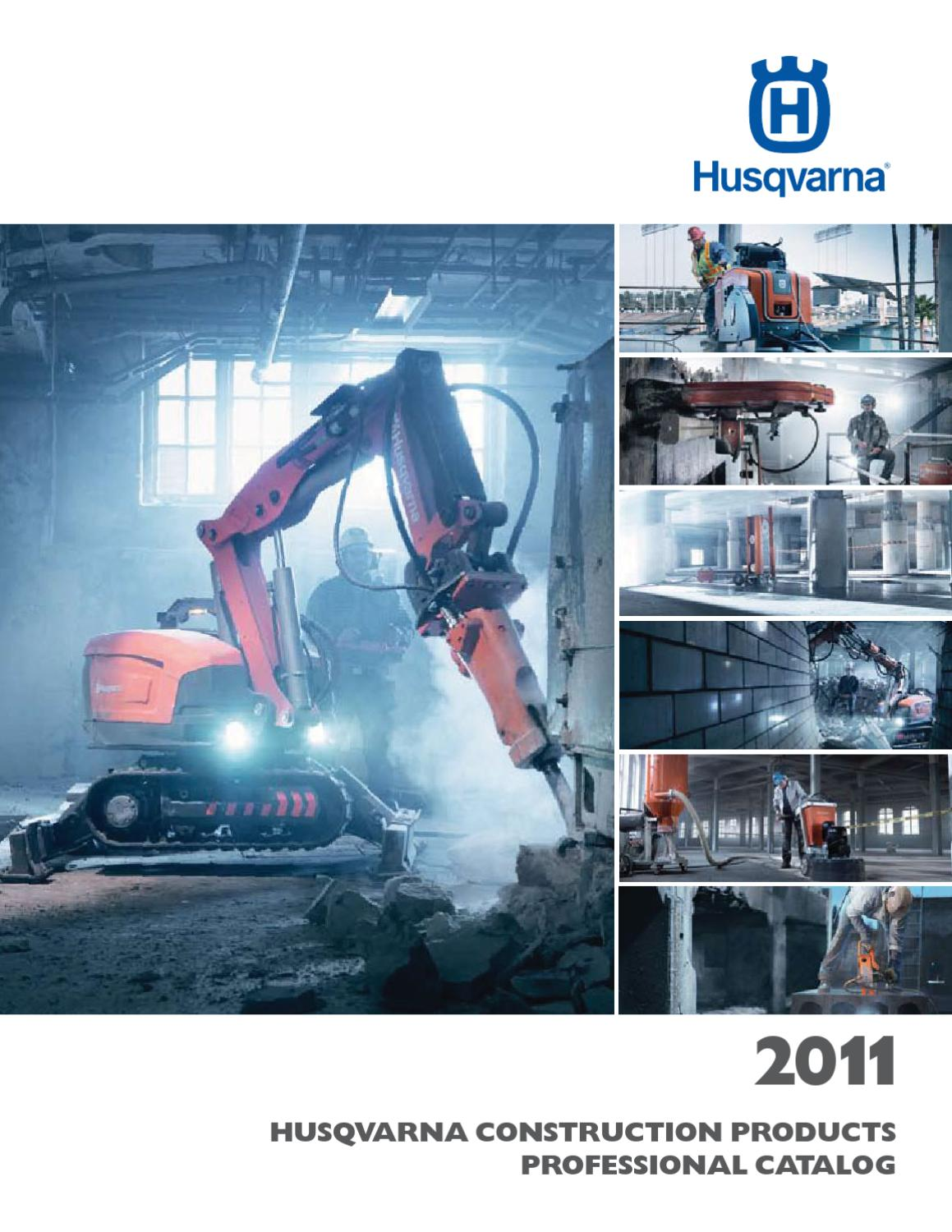 Husqvarna Construction Products 2011 Product Catalog (US) by