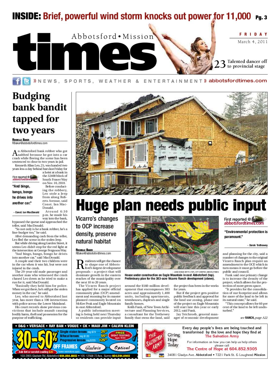 aaa1d25c2c Abbotsford Times March 4 2011 by Postmedia Community Publishing - issuu