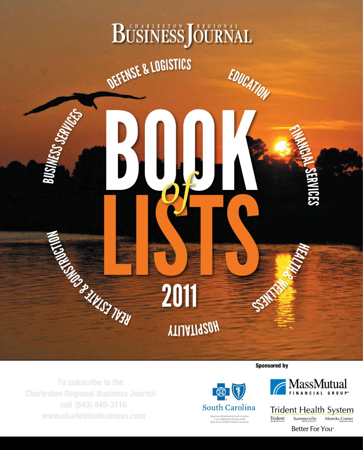 2011 Charleston Book Of Lists By Sc Biz News Issuu Circuits 8085 Projects Blog Archive Hobbyfmtransmittercircuit