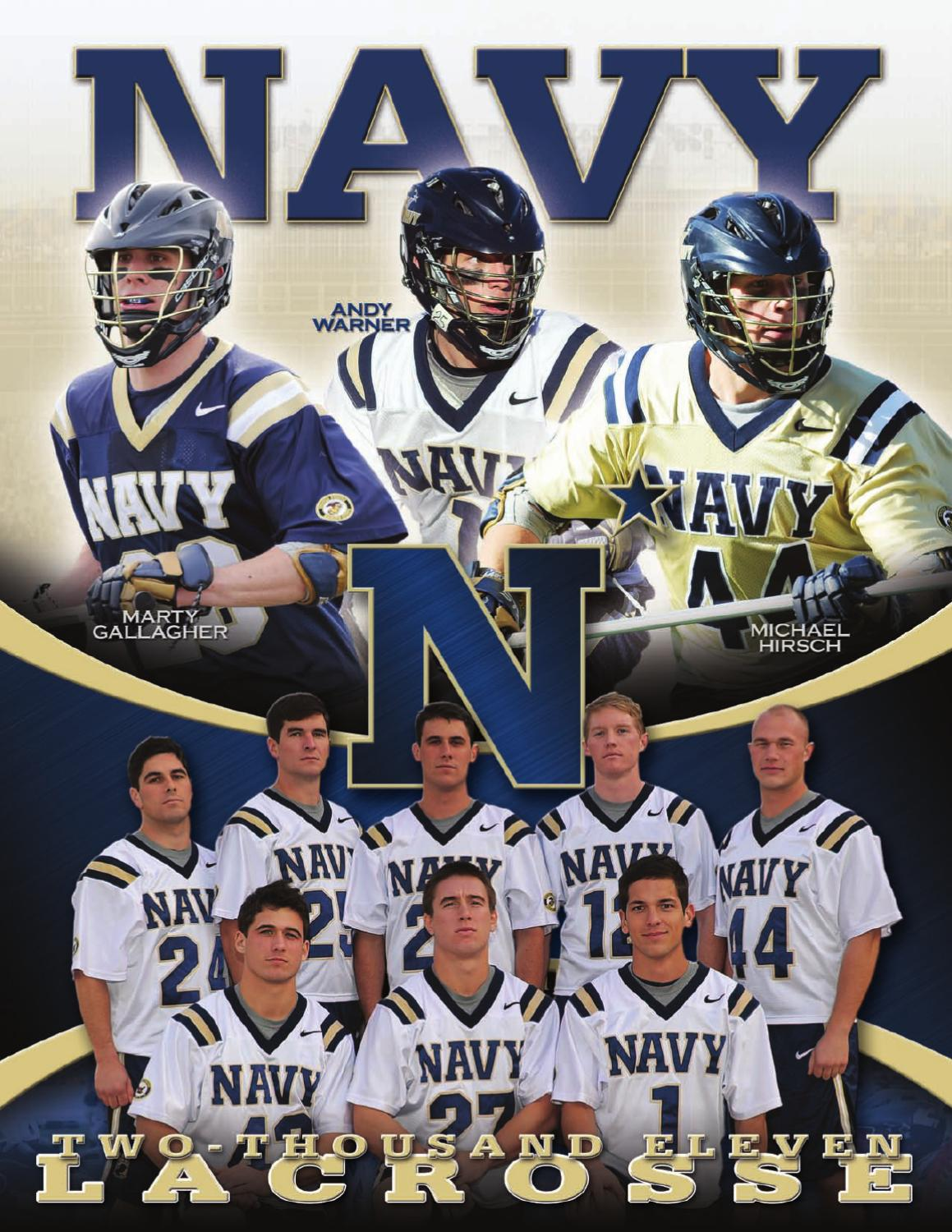 2011 M Lacrosse Guide by Naval Academy Athletic Association - issuu 9e73296bb