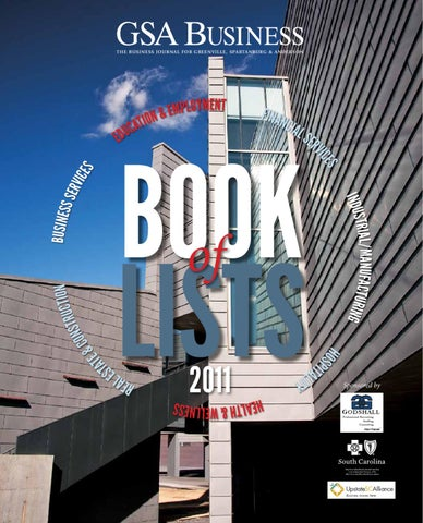 gsa business book of lists 2011 by sc biz news issuu9625109 Mens Graphic T Shirt Sale #1