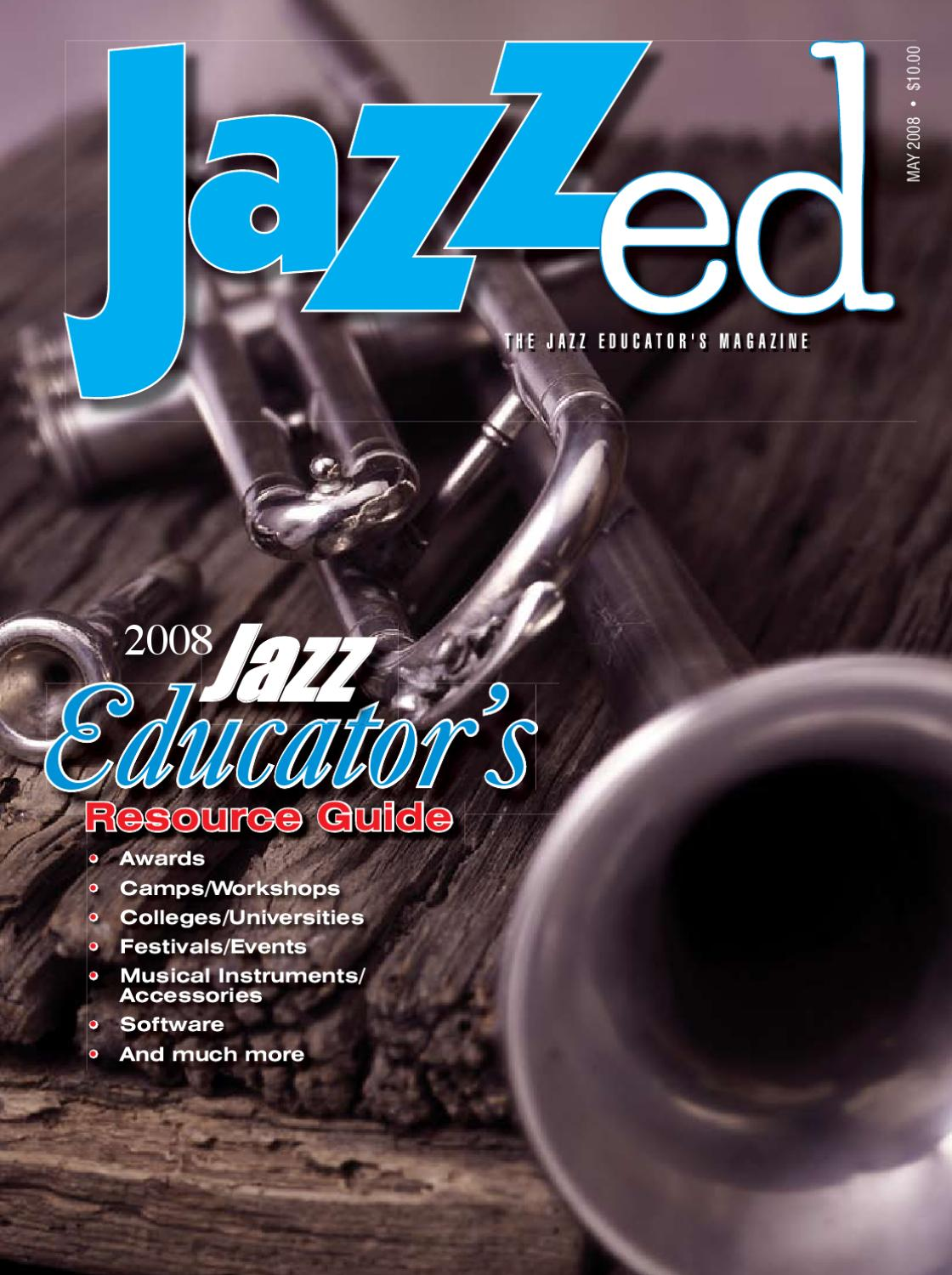 JazzEd May 2008 by JAZZed - issuu