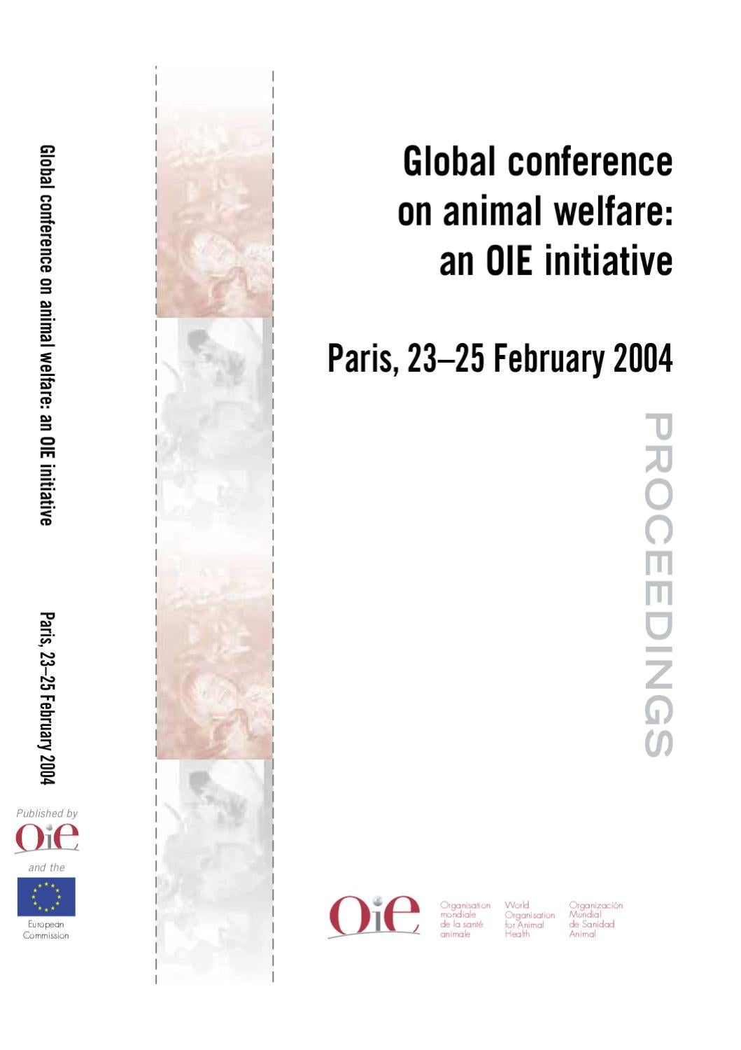 global_conference_on_animal_welfare_an_oie_initiat by Andrés Muñoz ...