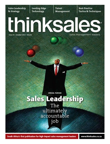 Thinksales magazine issue 01 by nicole lombard issuu page 1 fandeluxe Image collections