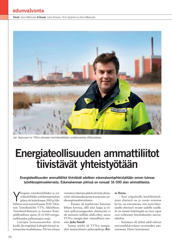 Energiateollisuuden Tes