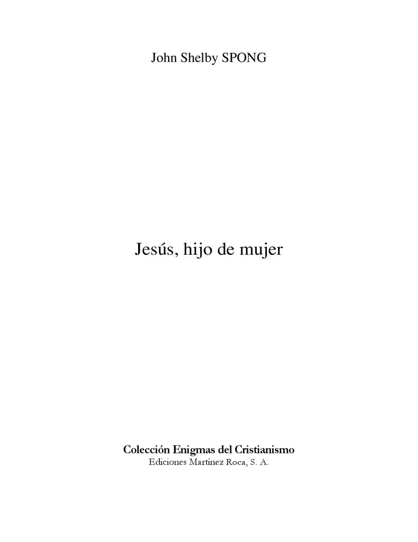 Jesús, hijo de mujer by Jose Luis - issuu