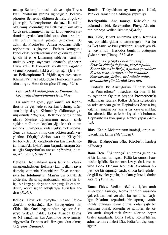Mitoloji Sozlugu By Aslihan Fer Issuu