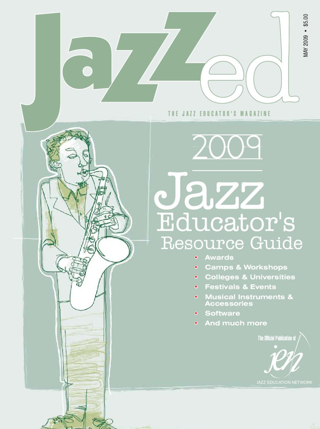 JazzEd May 2009 by JAZZed - issuu