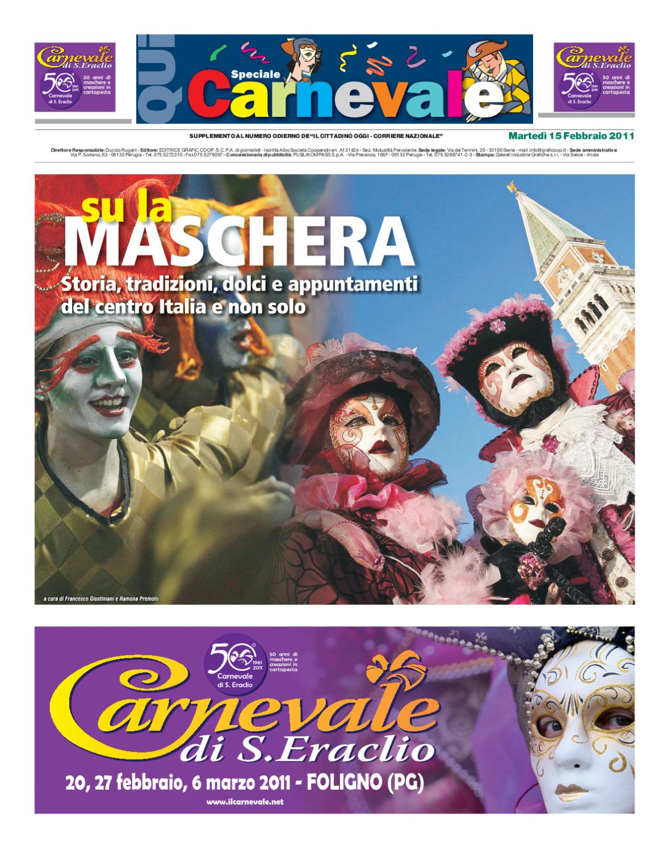 Qui Speciale Carnevale 2011 by Duccio Rugani - issuu 437226f618b9