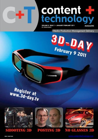 7fa564da63 Content+Technology - January-February 2011 by Broadcastpapers Pty ...