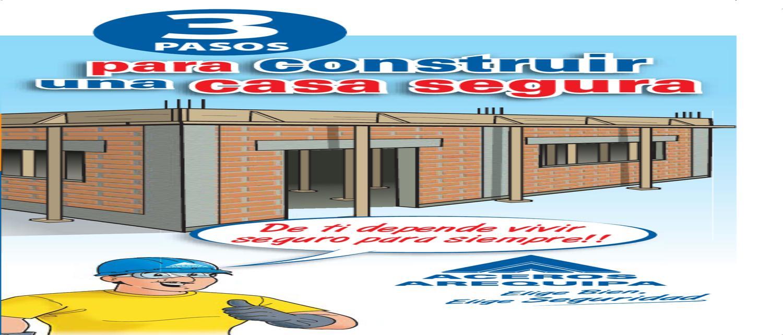 3 pasos para construir una casa segura by corporaci n - Construir una vivienda ...