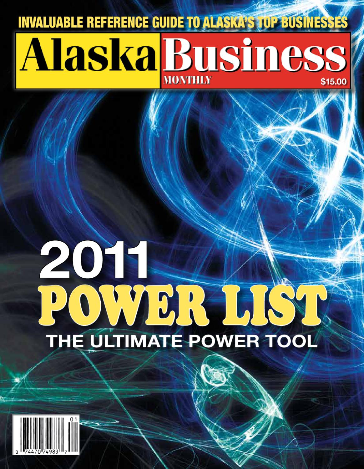 Power List 2011 Alaska Business Monthly By Issuu 1985 Plymouth Voyager Wiring Diagram
