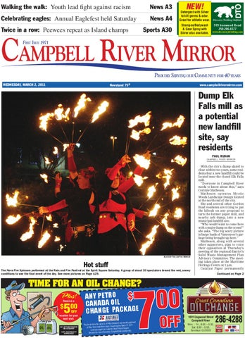 March 2, 2011 Mirror by Campbell River Mirror - issuu