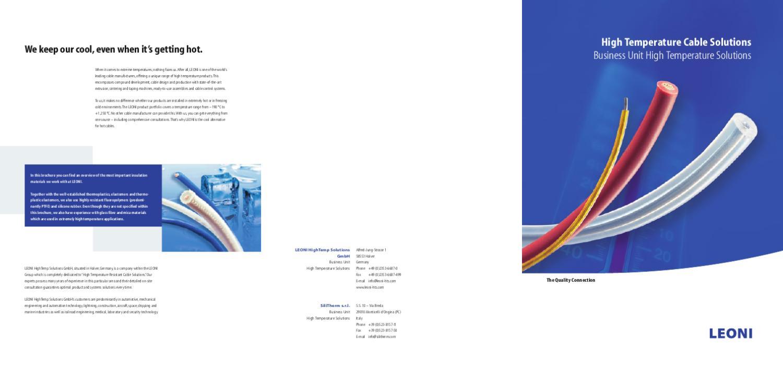 Materiaal eigenschappen en by FELTEN Wire & Cable Solutions