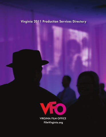 Virginia 2011 Production Services Directory By Oz Publishing Inc