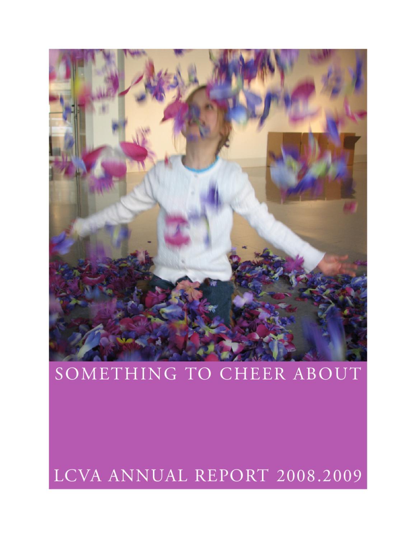 lcva annual report 2008-2009 by longwood university