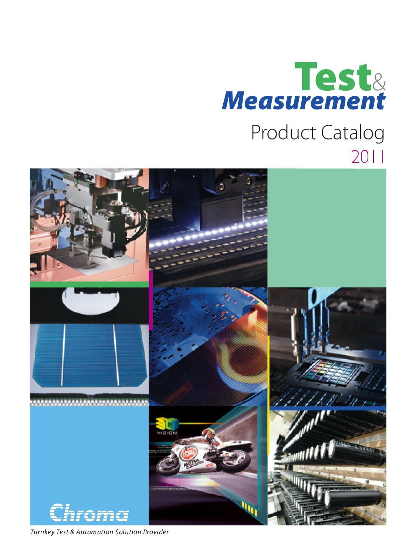 Chroma Product Catalog 2011 by Scott