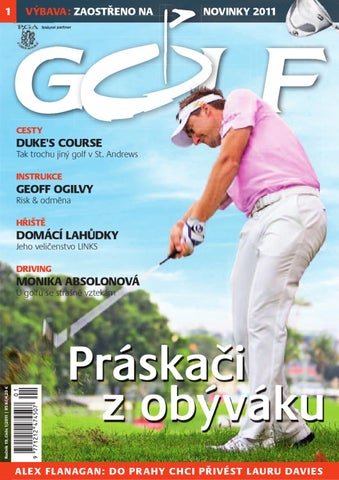 f7906e1abac Časopis Golf 2011 01 by Golf Czech - issuu
