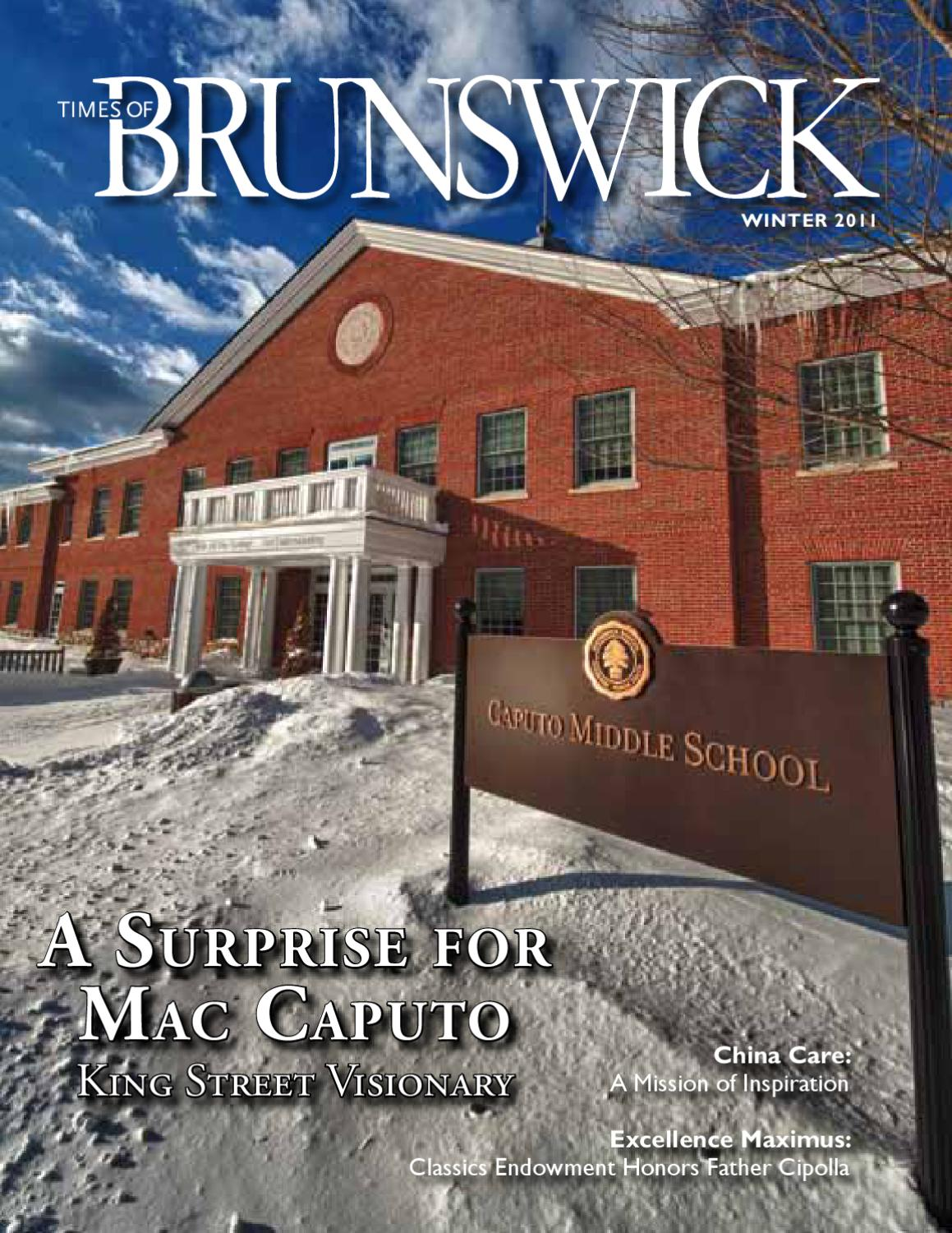 Times Of Brunswick Winter 2011 By Brunswick School Issuu
