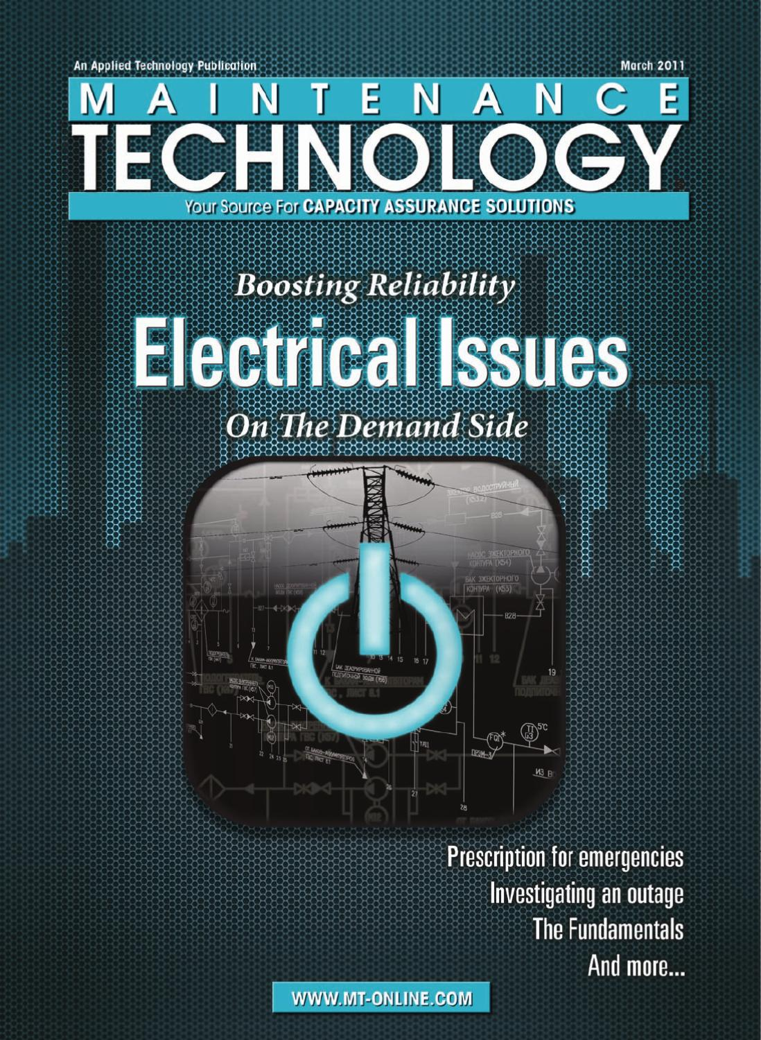 Maintenance Technology March 2011 by Applied Technology Publications ...