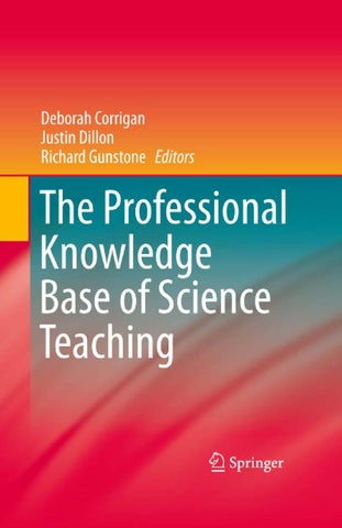 The professional knowledge base of science teaching by henrik page 1 fandeluxe Gallery
