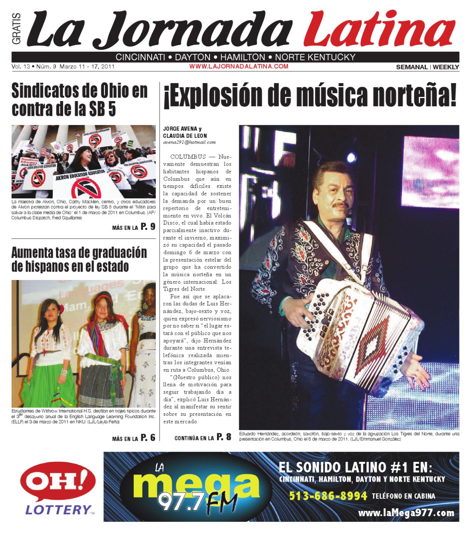 La Jornada Latina Cincinnati Mar. 11 by TSJ Media - issuu