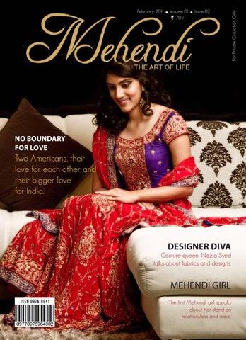 46daae4373b Mehendi Magazine Issue 02 by Mehendi Wedding Magazine - issuu