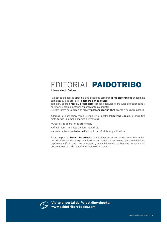 Catálogo Paidotribo by Distribuciones Mediterráneo - issuu