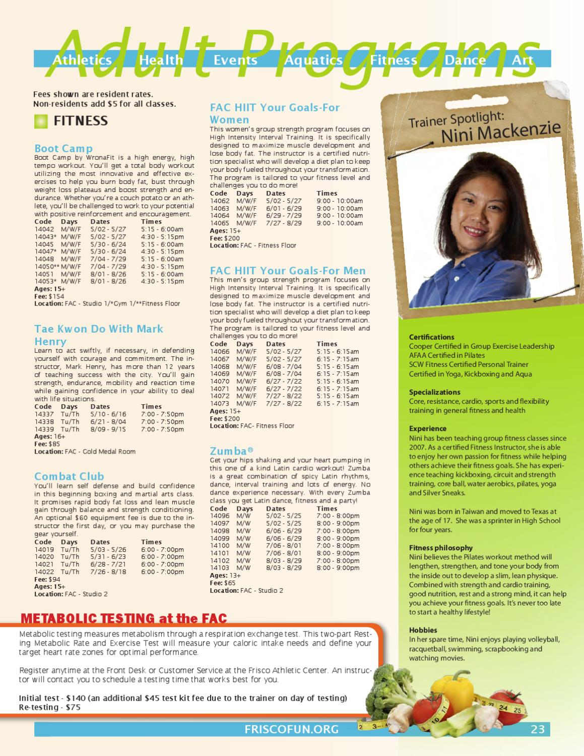 Summer Frisco Fun Guide By Frisco Parks Recreation Issuu