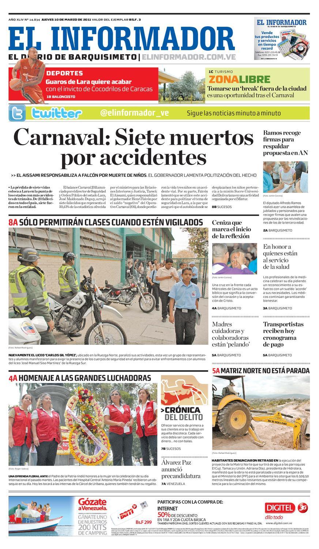 El Informador impreso 2011.03.10 by El Informador - Diario online ...