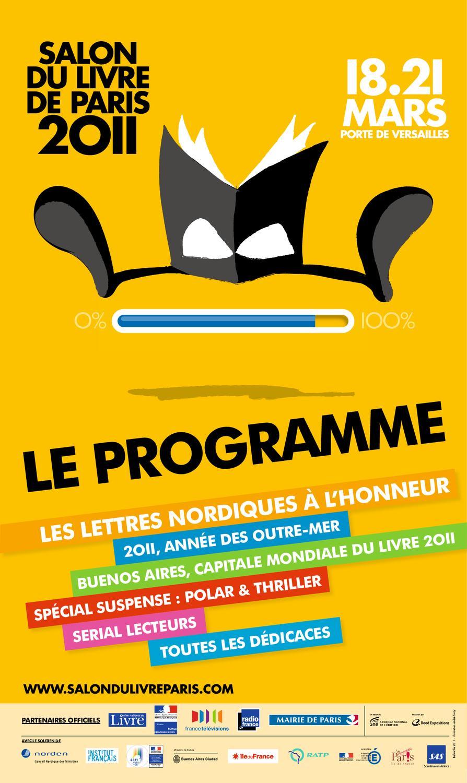 Programme salon du livre de paris 2011 by salon du livre for Salon du livre france