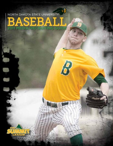 2011 North Dakota State Baseball Media Guide by North Dakota