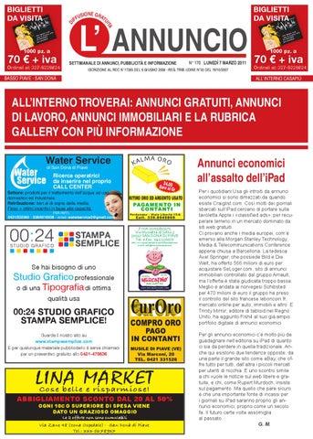 42efdbf5b5 l'annuncio by Paolo Minto - issuu