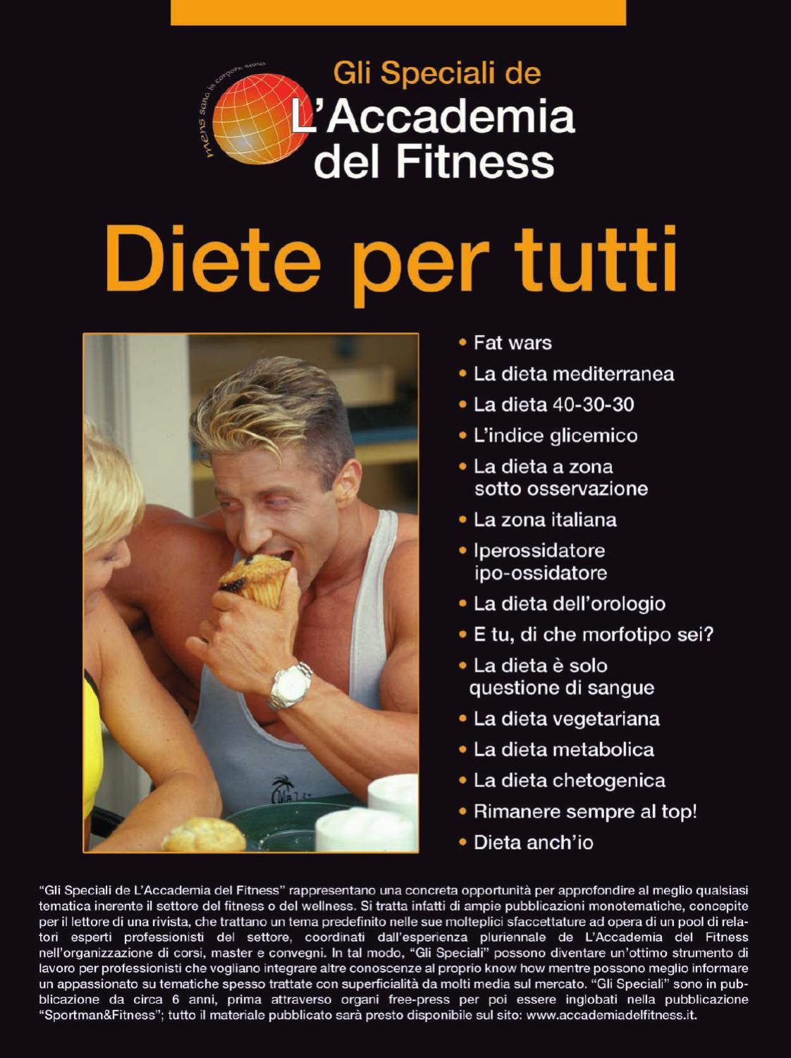 DIETE by Accademia del Fitness - Wellness - Antiaging - issuu 3157a764ddfb