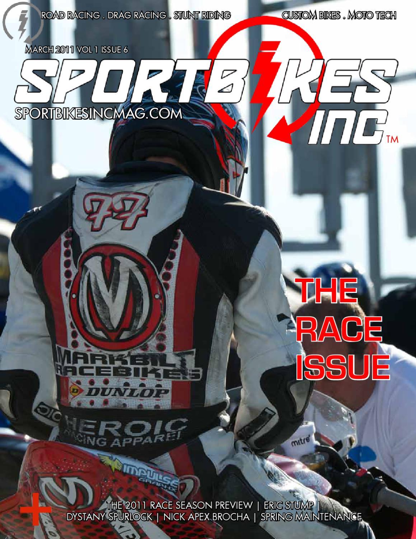 6358b40b1a8a0f SportBikes Inc Magazine March 2011 (Volume 1