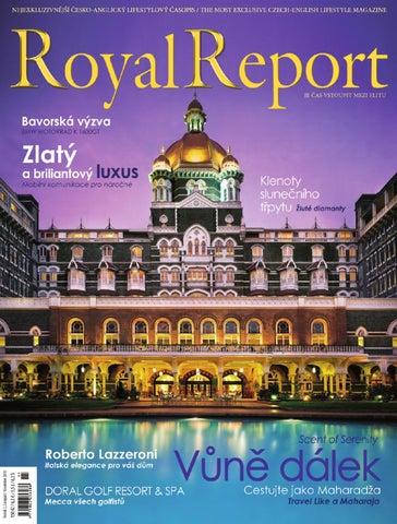 d6c696fce61 Listopadové vydání RoyalReportu má vždy nádech vůně dálek. Při počasí