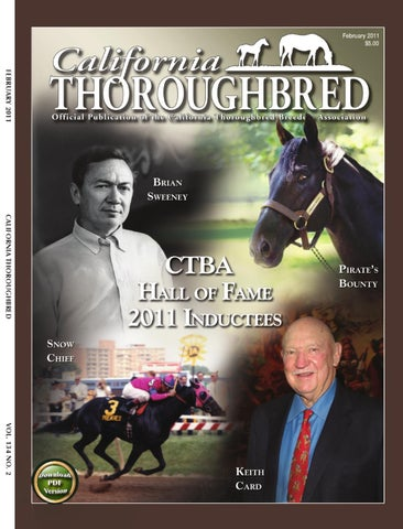 California Thoroughbred Trainers License