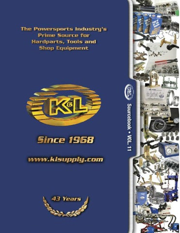 2011 K&L catalog by klsupply K&L - issuu