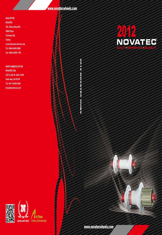 light 408g MTB Novatec Mountain bike DISC hubs-D711SB-D712SB Shimano SRAM Black